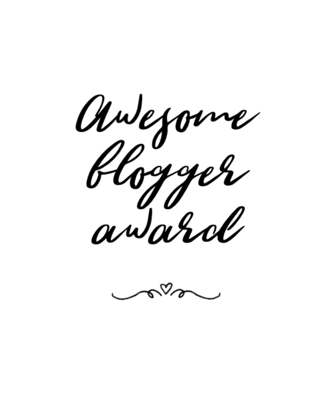 The Awesome blogger award x2*Cheers*