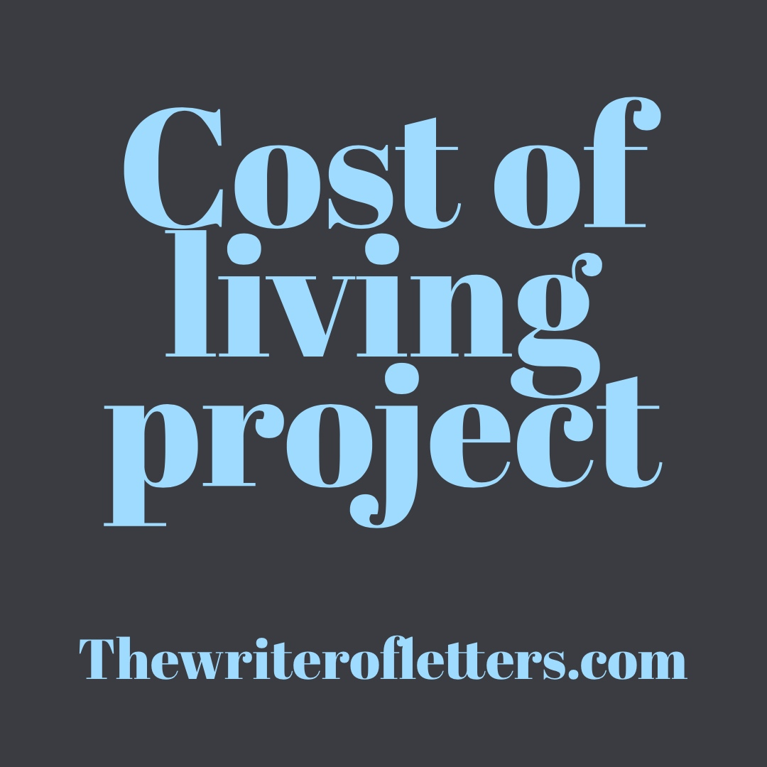 Cost of living project *grins and bows dramatically *