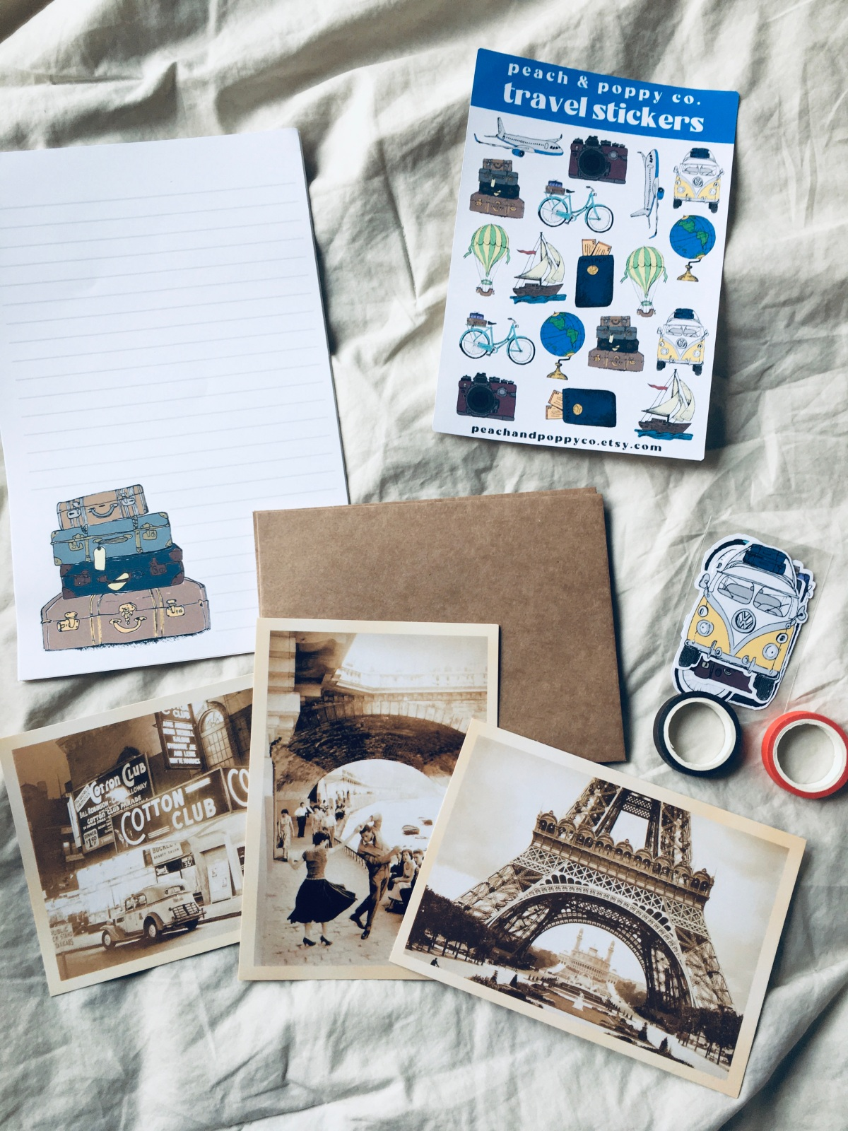 Review of snail mail kit from peachandpoppyco + pen pal with me! *Spins in a circle*