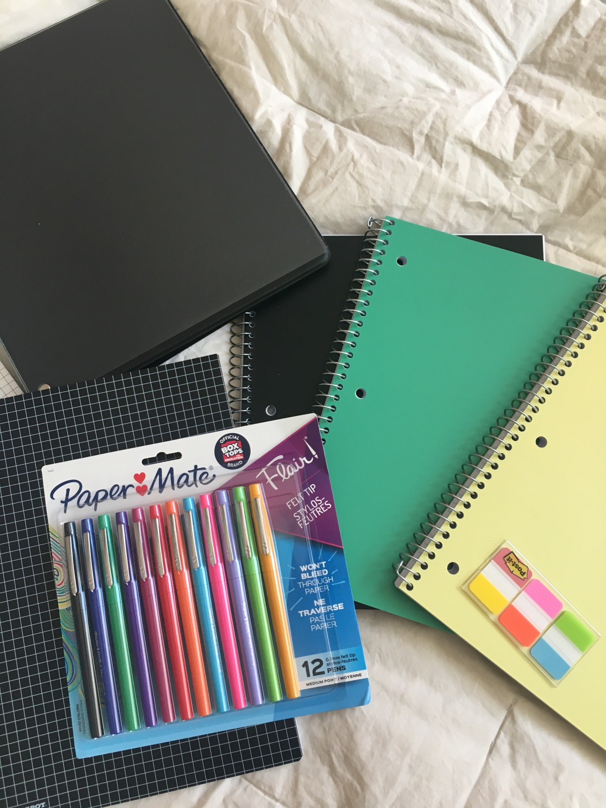 Back to school supplies haul! *groans then shrugs and smiles*