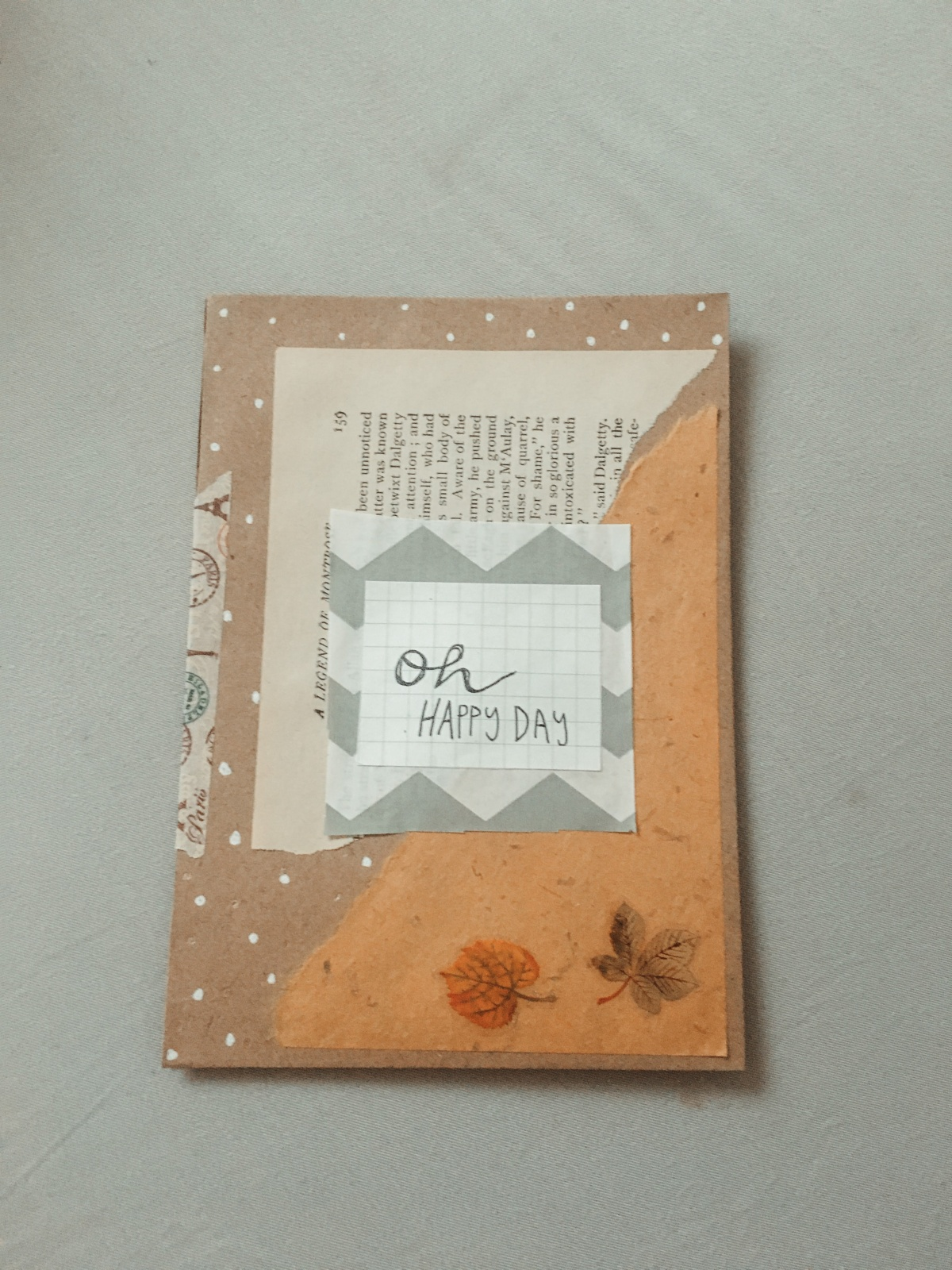 DIY Pen-pal pocket envelope *hurries to make more*