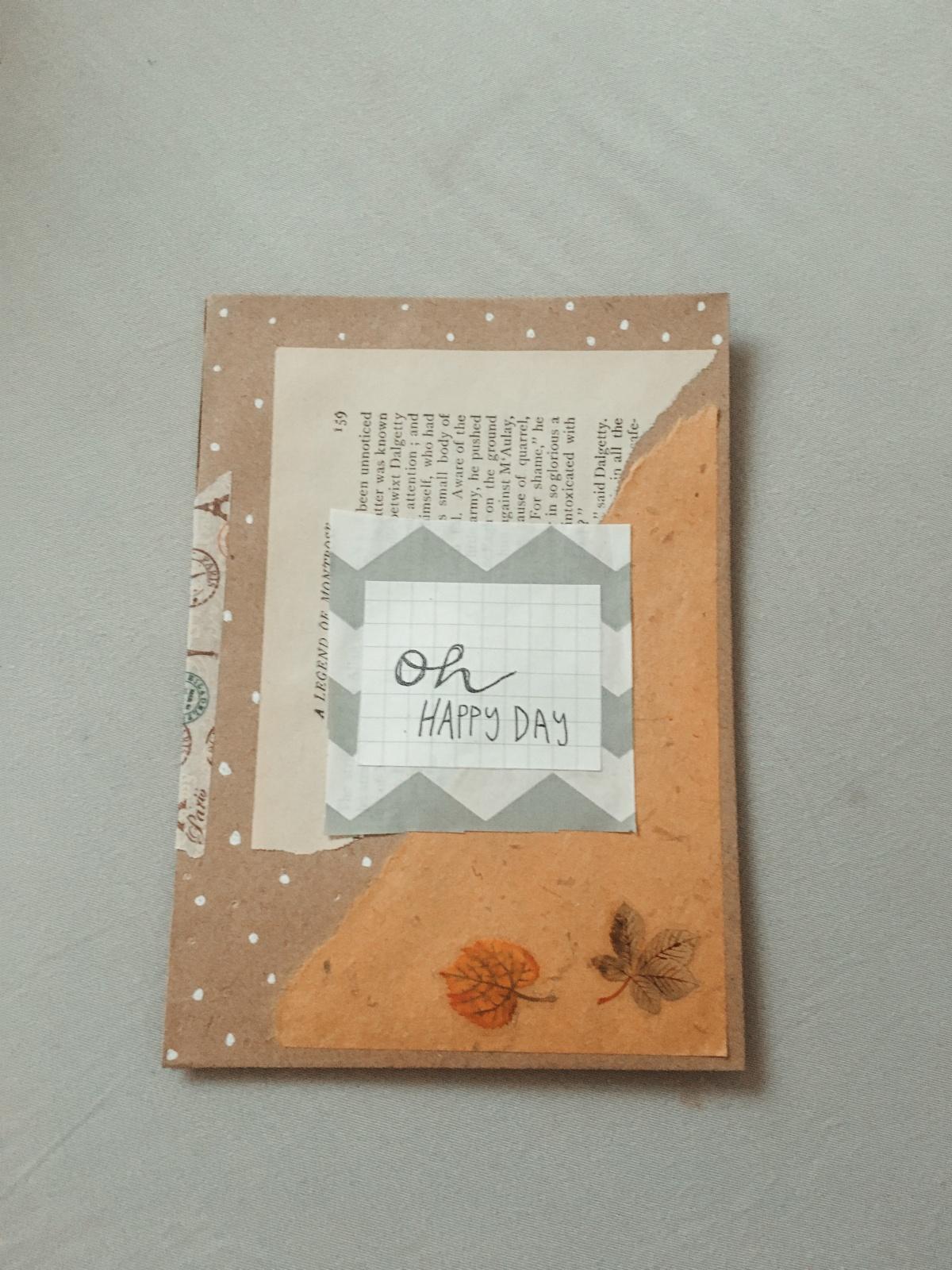 DIY Pen-pal pocket envelope *hurries to makemore*